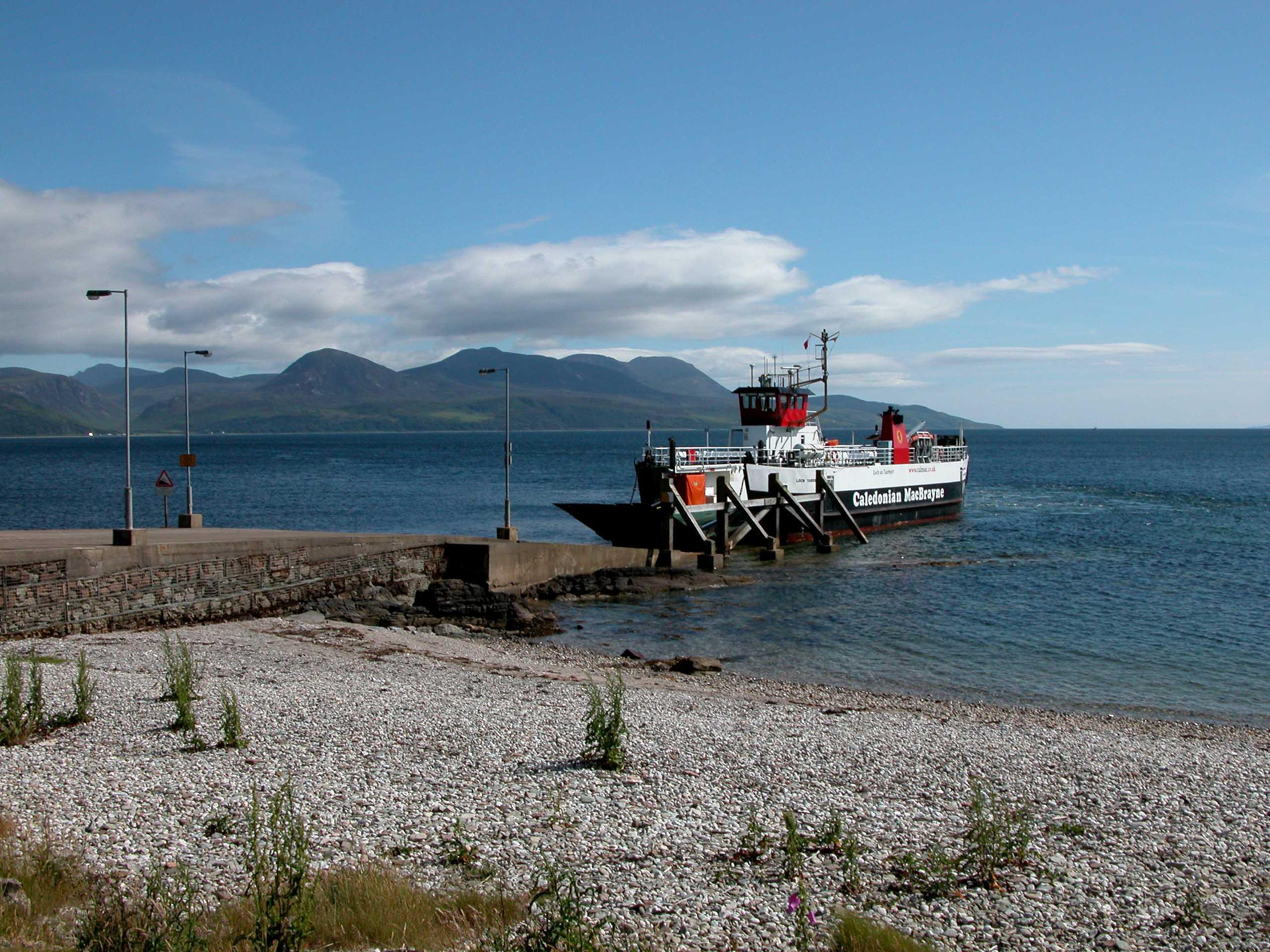 MV Loch Tarbert, Claonaig