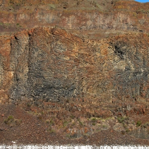 Volcanic Rock, Lenore Lake, WA