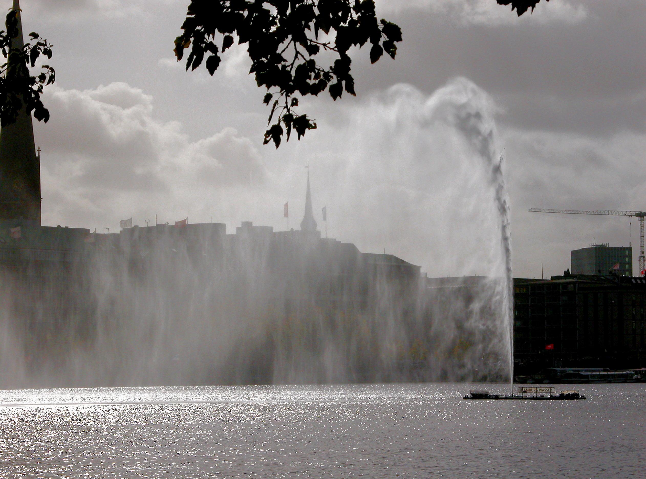 Alster Fountains, Hamburg