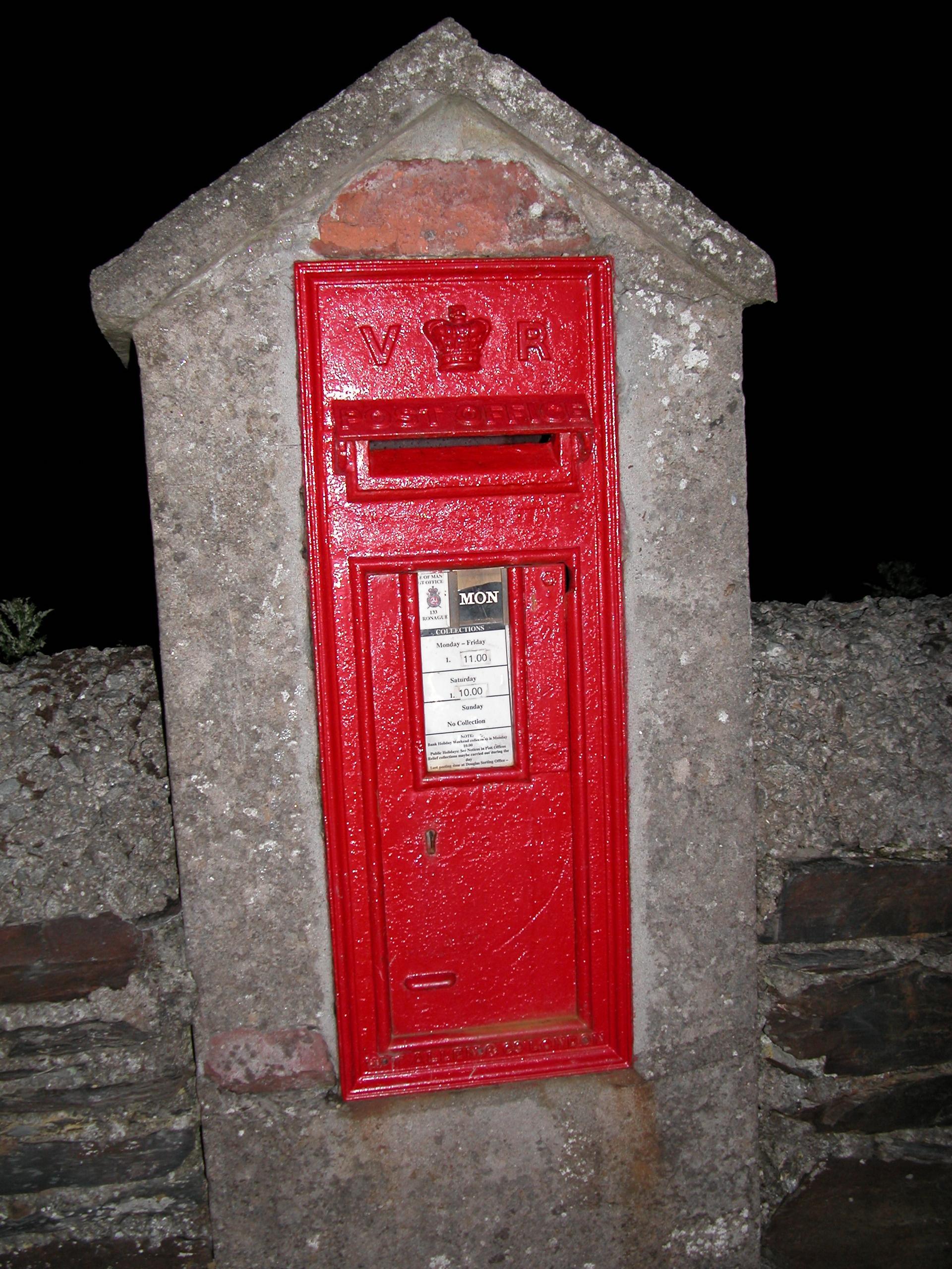 Ronague, Victroian Letter Box