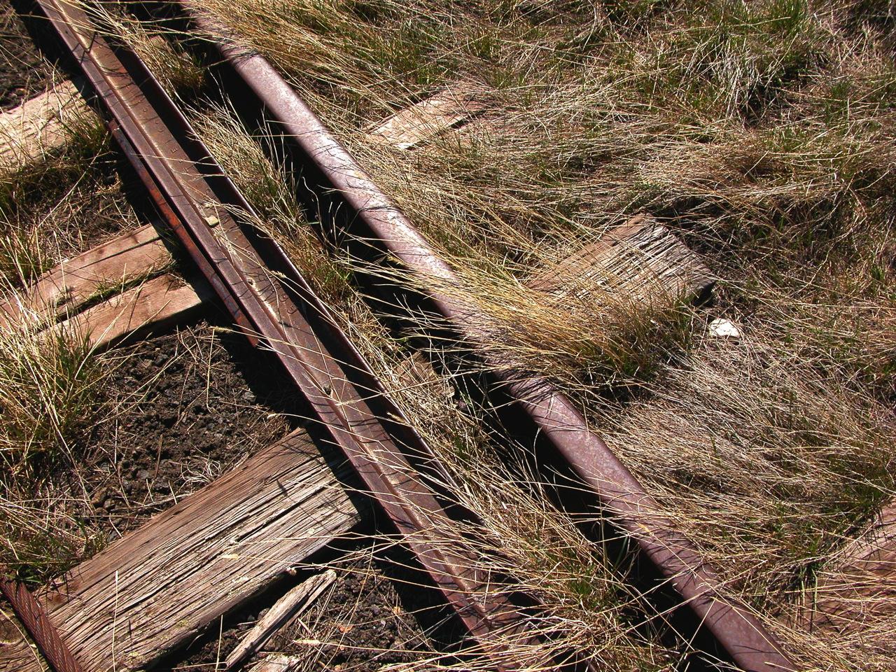 Rail tracks, Wilsall