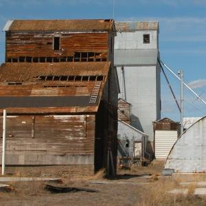Grain Elevator, Wilsall