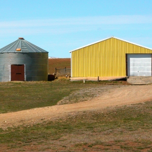 Out Buildings, Wilsall, Montana