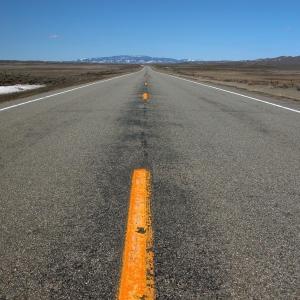 US 89 north of Wilsall, Montana