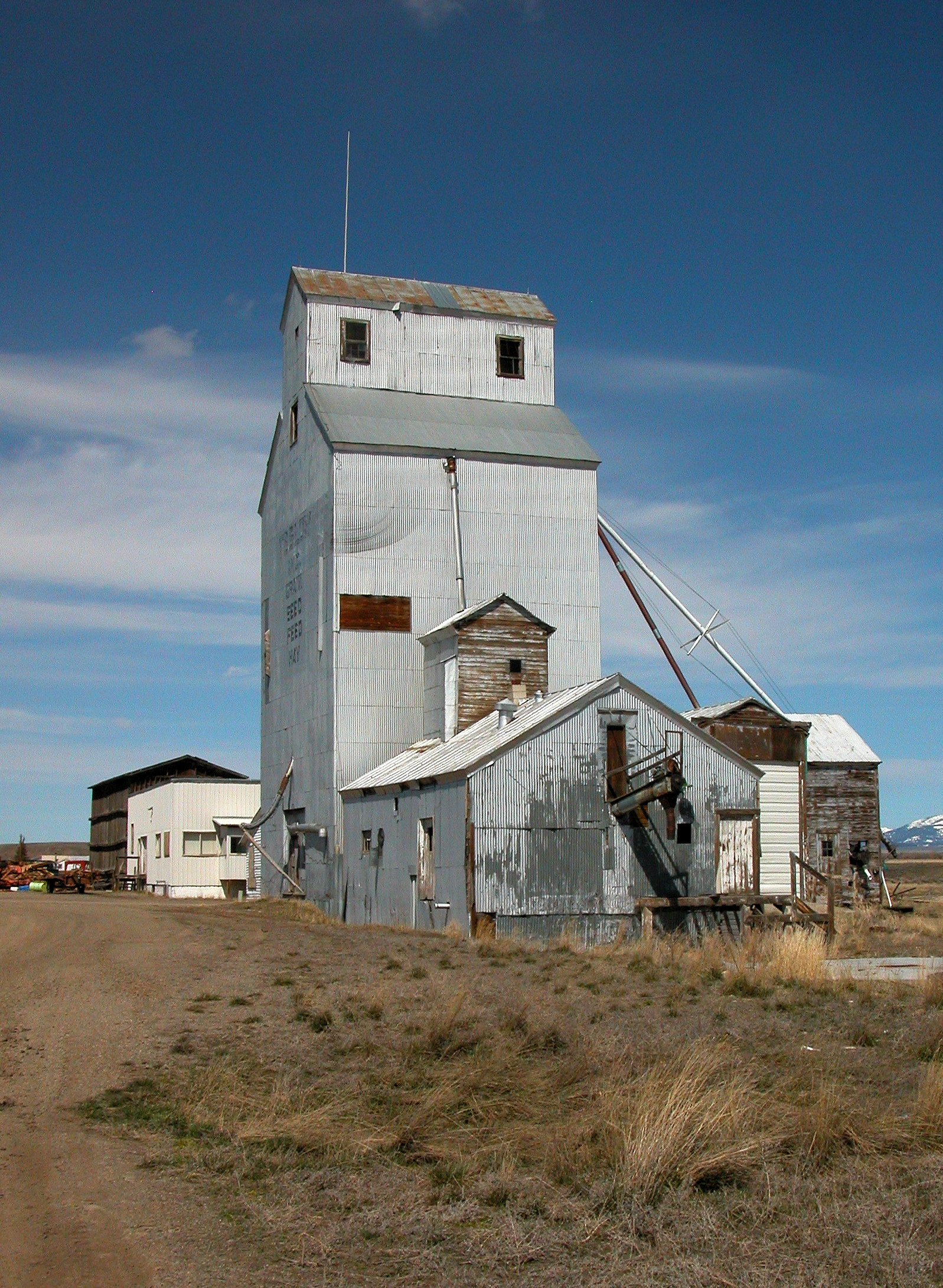 Grain Elevator, Wilsall, Montana