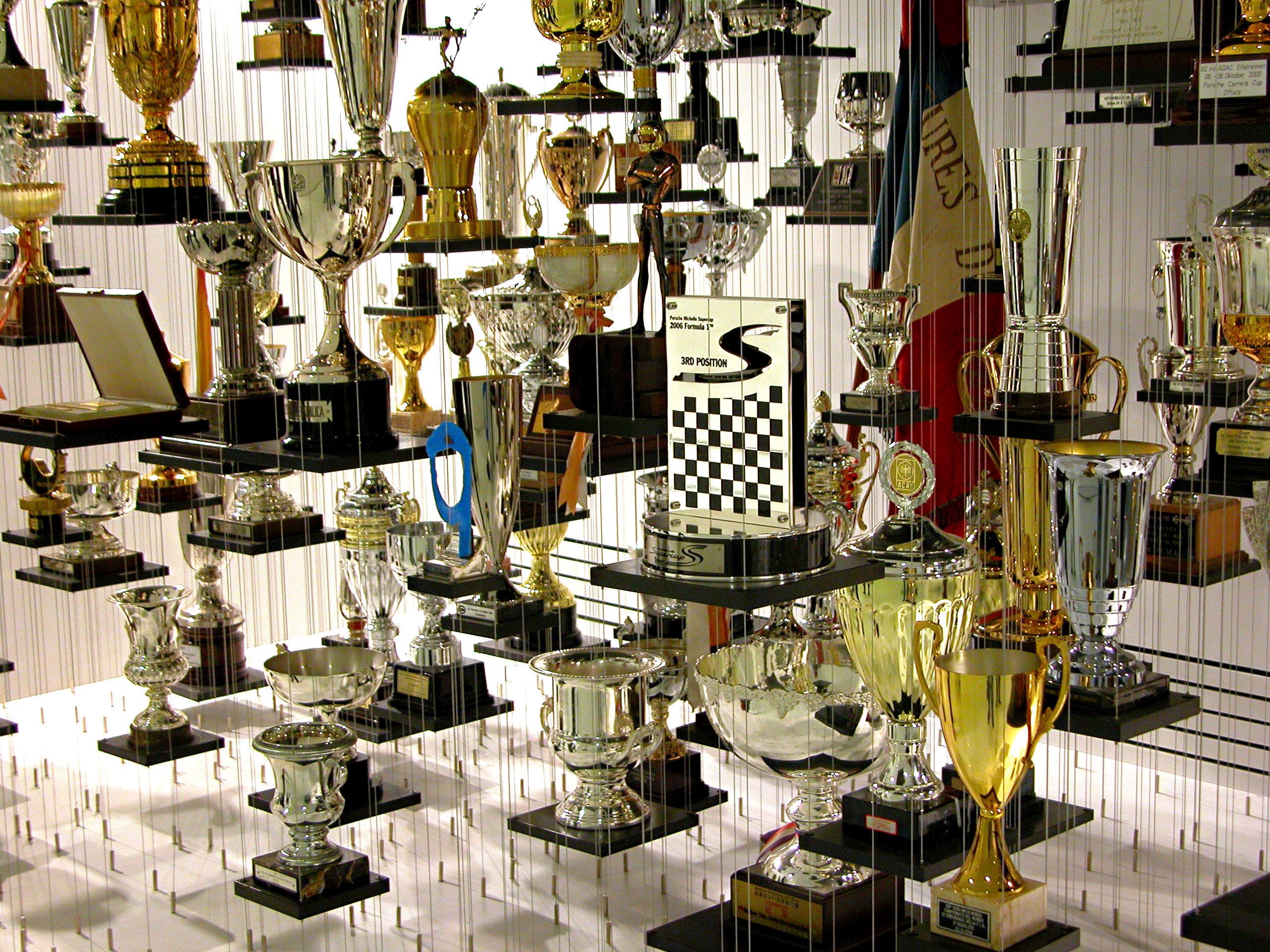 Porsche Museum Trophies