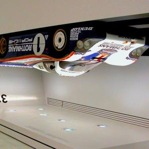 Porsche 956 upside down