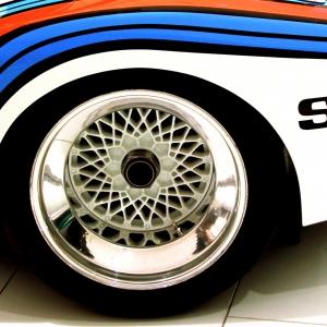 Porsche Martini 911 detail