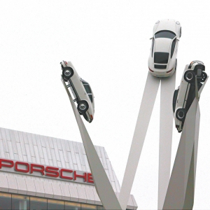 Exterior Porsche Museum