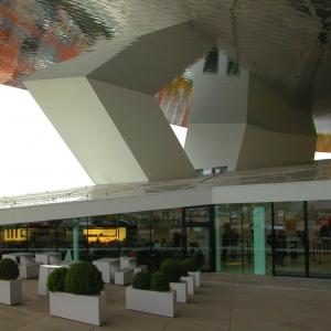 Porsche Museum Entrance
