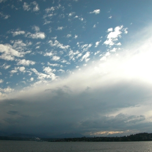 Looking West to Port Townsend