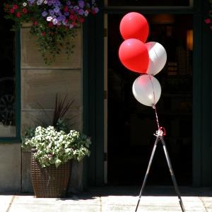 Balloons on Water Street