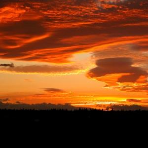 Sunset Buckman Lake