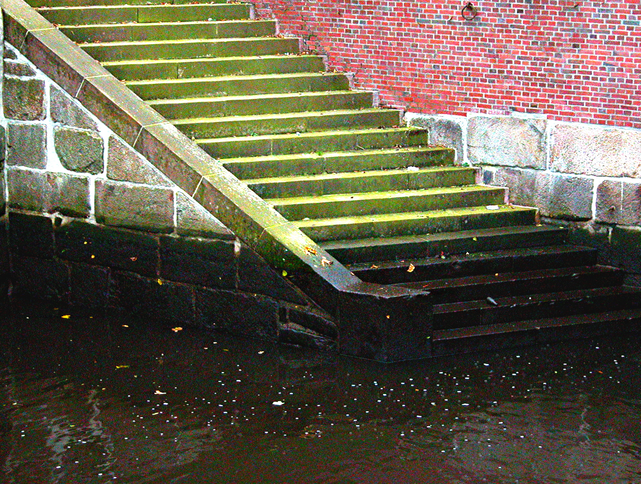 Steps to Schwinge, Stade