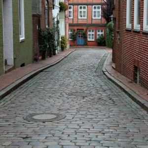 Side Street, Old Buildings