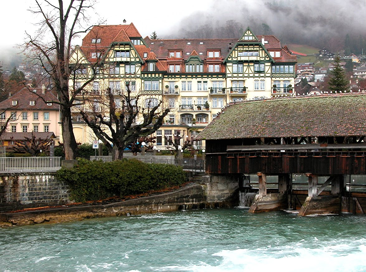 Obereschleuse Bridge, Thun