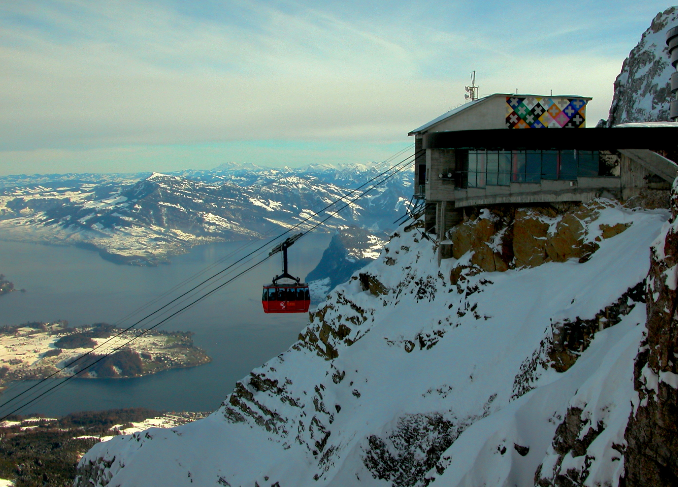 Mt Pilatus Cable car