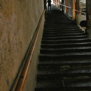 Stairs to Thun  Castle