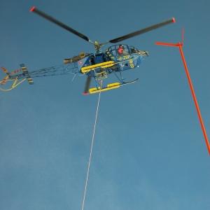 Helicopter, Mt Pilatus