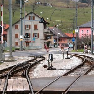 Montbovon train station