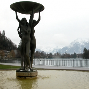Water nymphs fountain