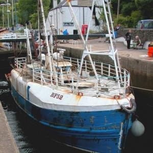Crab Boat, Crinan Locks