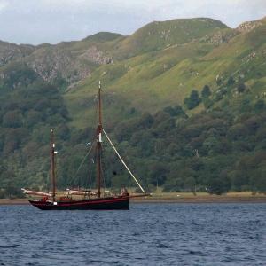 Sailboat, Loch Craignish